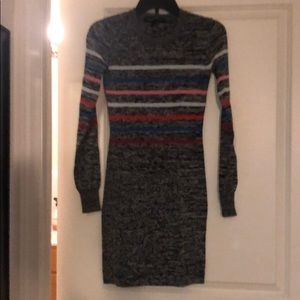 French Connection striped sweater dress size 0